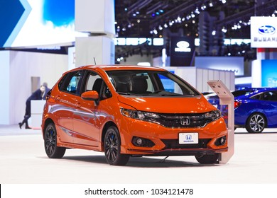 CHICAGO - February 8: The 2018 Honda Fit on display at the Chicago Auto Show media preview February 8, 2018 in Chicago, Illinois.