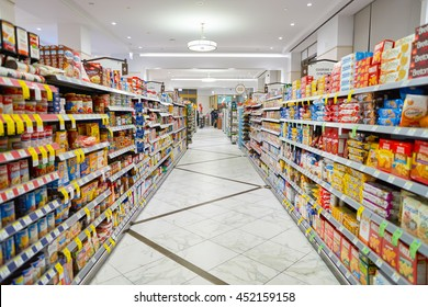 CHICAGO, IL - CIRCA APRIL, 2016: inside of the Walgreens store. The Walgreen Company is an American pharmaceutical company which operates the second-largest chain in the USA behind CVS Health.