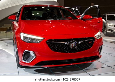 CHICAGO, IL - FEBRUARY 10: Buick Regal GS at the annual International auto-show, February 10, 2018 in Chicago, IL