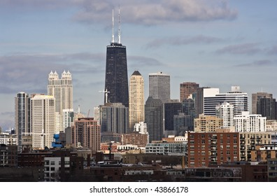 Chicago, IL - John Hancock Building area