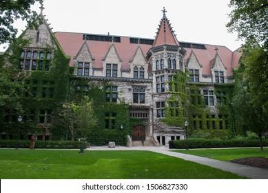 Chicago, Il, USA 09/03/2019 University of Chicago