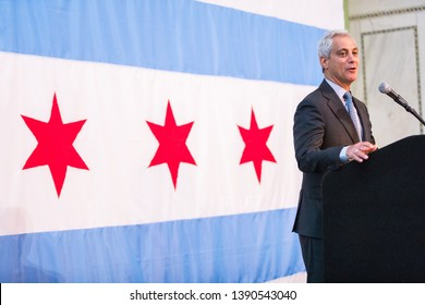 CHICAGO, ILLINOIS / USA - MAY 30, 2018 2018 ANNUAL MAYORAL IFTAR