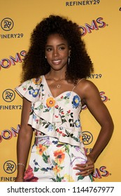 """CHICAGO - JUL 25: Singer Kelly Rowland attends Refinery29's """"29Rooms: Turn it Into Art,"""" on July 25, 2018 in Chicago, Illinois."""