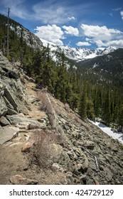 Chicago Lakes Trail, Mt. Evans Wilderness, Colorado USA