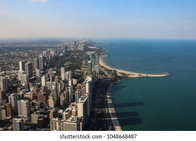 Chicago landscape from 360 Chicago