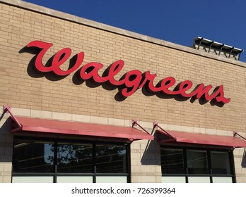 CHICAGO - OCTOBER 2017: A Walgreens drug store in October 2017 in Chicago.
