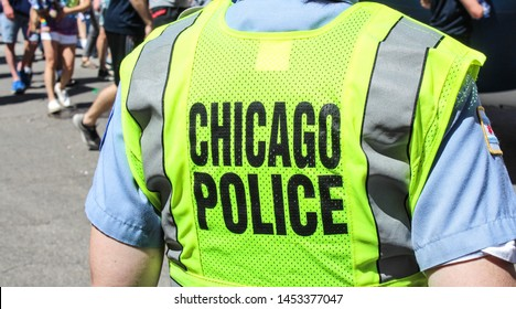 Chicago Police Patrol, Illinois, USA