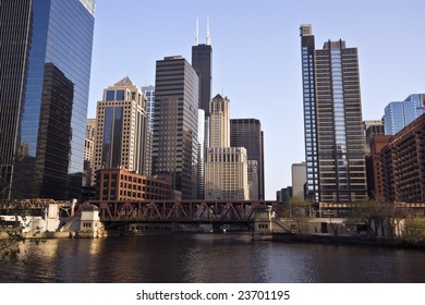 Chicago River - Downtown Chicago, IL.