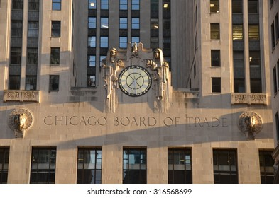 Chicago - September 7, 2015: Chicago Board of Trade