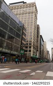 Chicago Shamrock Shuffle 8K Run, March 2019
