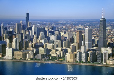 Chicago Skyline, Chicago, Illinois