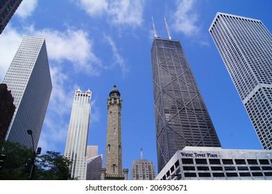 Chicago skyline, July 23rd, 2014
