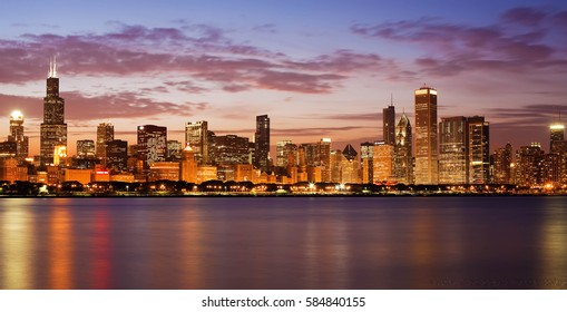 Chicago, Skyline view