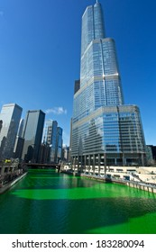 Chicago St Patrick Green river