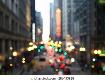 Chicago Street Lights