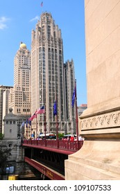 The Chicago Tribune building