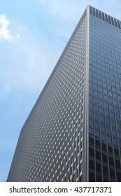 CHICAGO, USA - JUNE 27, 2013: Kluczynski Federal Building in Chicago. The skyscraper was designed by Ludwig Mies van der Rohe. It hosts DEA, IRS, Dept. of State and Dept. of Labor.