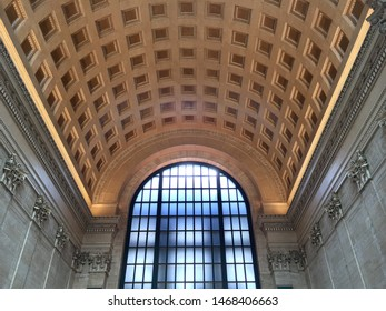 Barrel Vaulted Ceiling Images Stock Photos Vectors