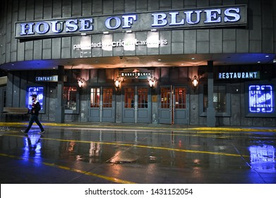 CHICAGO, USA - MARCH 14, 2019: House of Blues in downtown Chicago. House of Blues is a chain of live music venues and restaurants in the US.