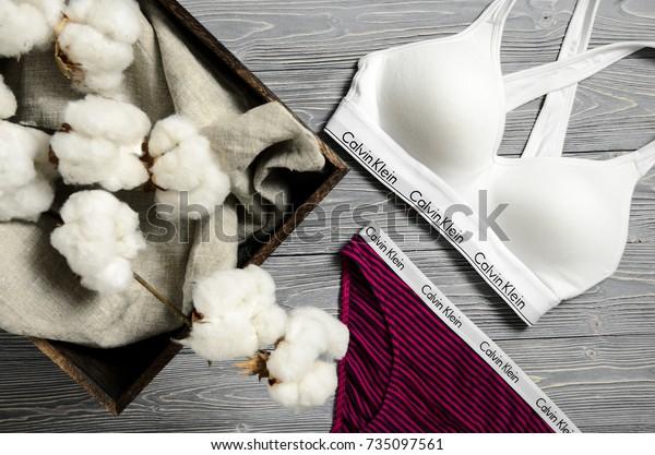 CHICAGO, USA - OCTOBER 10, 2017: Calvin Klein underwear. Calvin Klein Inc. is an American fashion house founded by the fashion designer Calvin Klein. USA on October 10, 2017.