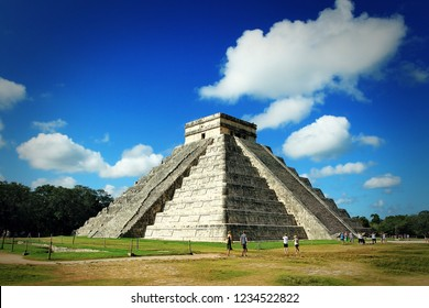 Chichen Idza - arge pre-Columbian city built by the Maya people