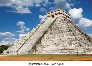 chichen Itza archaeological site maya yucatan peninsula of mexico unesco heritage