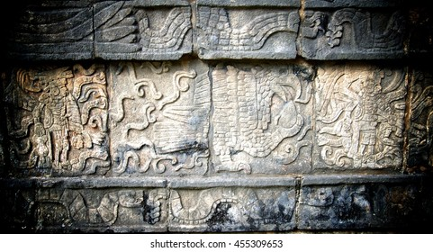 Chichen Itza Carving