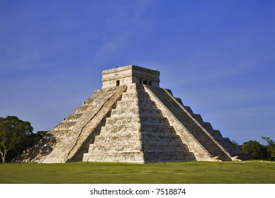 "Chichen Itza  The main pyramid El Castillo is also called Temple of Kukulcan. The Maya name ""Chich'en Itza"" means ""At the mouth of the well of the Itza."" Located in the Yucatan Peninsula of Mexico"