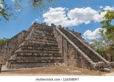 Chichen Itza, Mexico. Ancient Mayan ruins. Yucatan