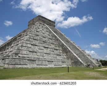 Chichen Itza ruins at Mexico
