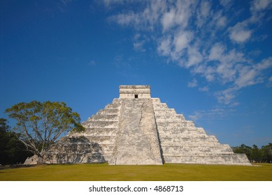 Chichen Itza Side View