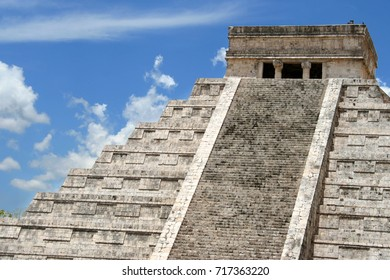 Chichen Itza is a world-famous complex of Mayan ruins on Mexico's Yucatan Peninsula.