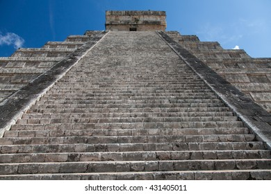Chichen Itza, Yucatec Maya, a large pre-Columbian city built by the Maya people of the Terminal Classic period.