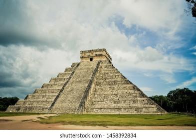 Chichen Itzá, Ruinas Mayas,Yucatán Mexico