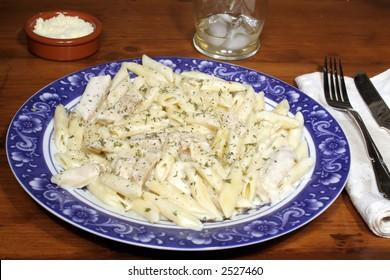 Chicken Alfredo Penne Pasta