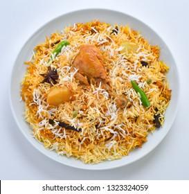 Chicken Biryani, Extremely delicious and spicy chicken biryani