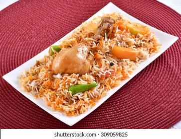 Chicken Biryani (Sindhi Biryani)
