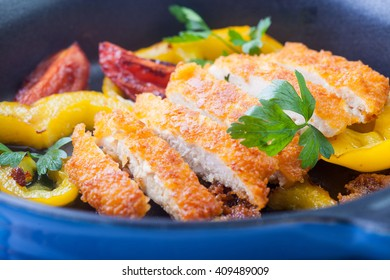Chicken breast cooked