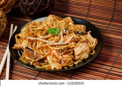 Chicken Chow Mein Images, Stock Photos & Vectors   Shutterstock