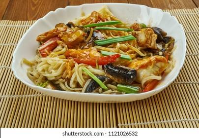 Chicken Chowmein authentic Chinese stir-fry