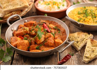 chicken with cream and spice