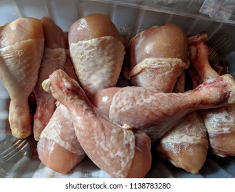 Chicken drumsticks for lunch