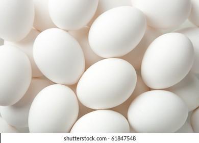 Chicken egg background full frame