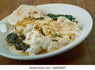 Chicken Florentine - Italian favorite uses cream of mushroom dich.