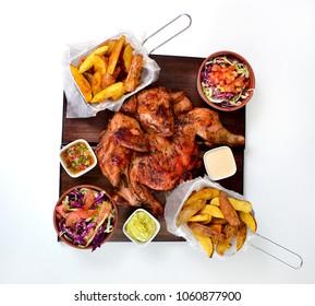Chicken grilled dish