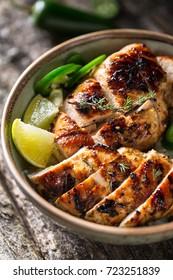 Chicken Jerk, jamaican food