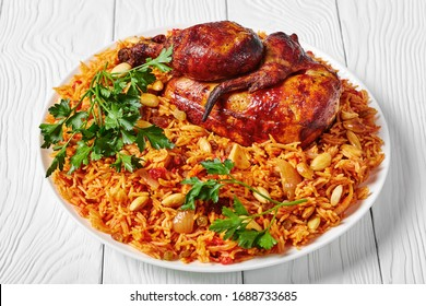 Chicken kabsa - homemade arabian rice