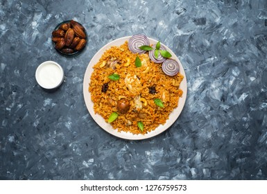 Chicken Machboos (Bahraini Spiced Chicken and Rice).