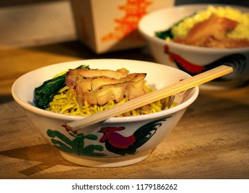 Chicken Noodle with take out box