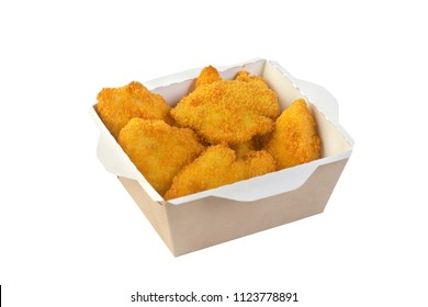 chicken nuggets in the container